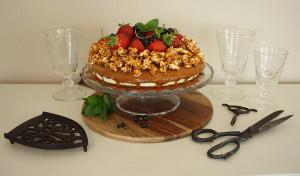 Čokoládový dort Lidl Food Challenge