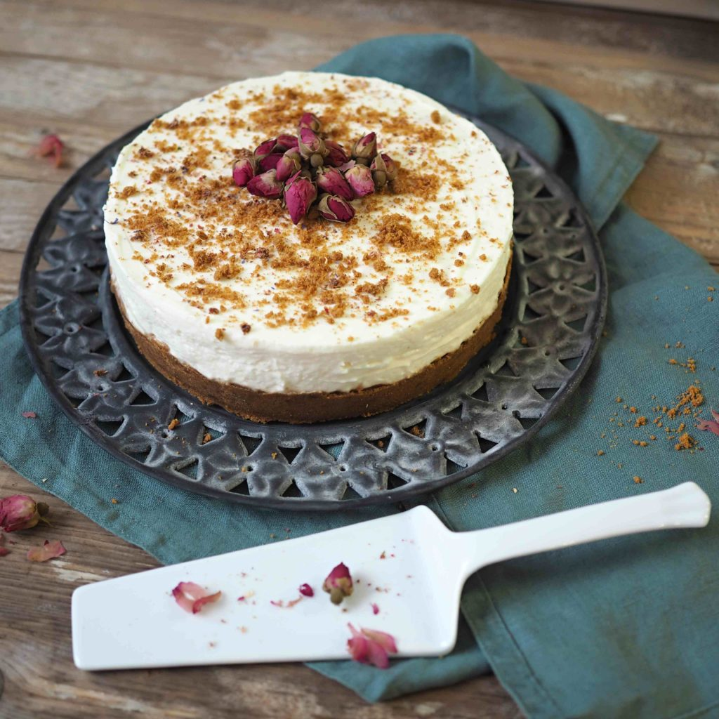 Nepečený zázvorový cheesecake